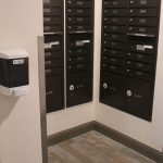 interior mail boxes on every floor at The Ridge Apartments in Sandy - Midvale, Utah