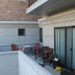large Patio for ground level tenants at The Ridge Apartments in Sandy - Midvale, Utah