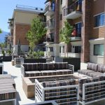 Large Back Patio Veranda - The Ridge Apartments in Sandy - Midvale, Utah