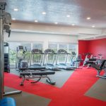 Fitness Center with a View at The Ridge Apartments in Sandy - Midvale, Utah