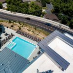 Large Pool Spa and Deck at The Ridge Apartments in Sandy - Midvale, Utah