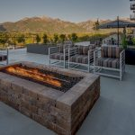 The Ridge Apartment Homes in Salt Lake Valley - Fire Pit-shaded