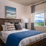 Bedroom - The Ridge Apartments - Salt Lake City