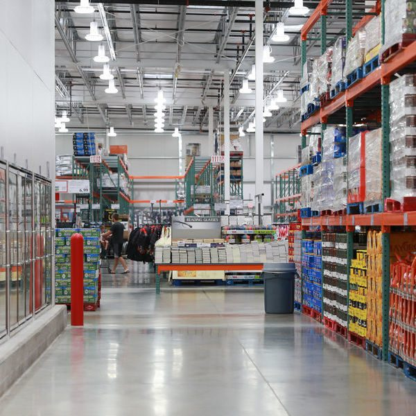 Costco Warehouse in Murray Utah near The Ridge apartments
